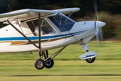 G-CDSW Aerosport Ikarus C42 FB80 (amisbk196) Tags: 2018 airfield aircraft aviation amis flickr headcorn unitedkingdom kent uk lashenden gcdsw aerosport ikarus c42 fb80