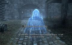 Lucien Reminisces ~ Riften (Rain Love AMR) Tags: skyrim game pc screenshot screencap assassin darkbrotherhood lucienlachance specter ghost summoned conjured