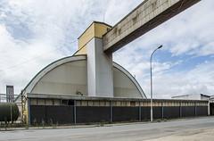 Industrial geometry (AstridWestvang) Tags: architecture building fredrikstad industry street øra østfold