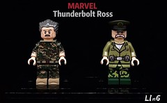 Thunderbolt Ross (L1n6zz) Tags: eclipsegrafx engineerio marvel lego thunderboltross