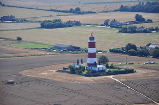 Happisburgh Lighthouse (aerial)