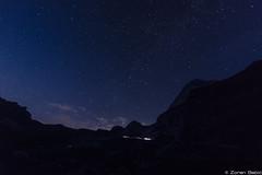 It's full of stars! (Zoran Babich) Tags: julianalps alps slovenia night nightsky landscape mangart mangrt sky mountain