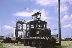 H&N 1 (Chuck Zeiler) Tags: hn 1 railroad ge locomotive huchinson train chuckzeiler chz