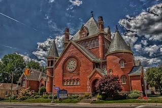Paris Ontario -  Canada  - Paris Presbyterian Church - Heritage