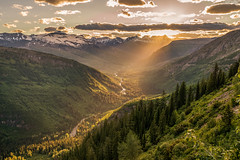 Going to the Sun (Clint Everett) Tags: landscape nature mountains rockies glacier national park montana summer expansive sunset