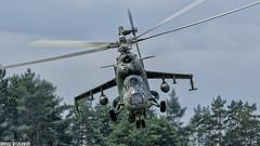 Mil Mi-24V Hind E (734) (Dariusz W.) Tags: helicopter mil mi24v hind e 734 dariusz d7000 wesołowski nikon nowy targ tamron nowotarski piknik lotniczy 70200