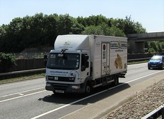 Castell Howell CK63 EVF at Welshpool (Joshhowells27) Tags: lorry truck castellhowell carmarthen daf lf daflf ck63evf