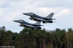F-16AM ,FA70/FA103, België (Alfred Koning) Tags: belgianairforcedays2018 belgië ebblkleinebrogel f16fightingfalcon f16am fa103 fa70 locatie vliegtuigen
