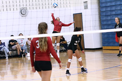 IMG_2636 (SJH Foto) Tags: girls high school volleyball mt mount olive varsity teens team spike jump action shot burst mode