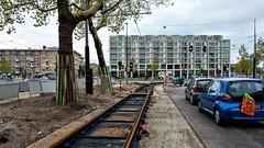 Hersporen (Peter ( phonepics only) Eijkman) Tags: amsterdam city gvb wegwerkzaamheden roadworks omleiding detour tram transport trams tramtracks trolley rail rails strassenbahn streetcars nederland netherlands nederlandse noordholland holland