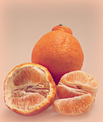 2018 Sydney: Sumo Mandarins (dominotic) Tags: 2018 food fruit citrusfruit sumomandarin dekopon sumocitrus orange yᑌᗰᗰy australiancitrus sydney australia