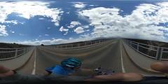 xing (rovingmagpie) Tags: newmexico taos riograndegorgebridge riograndegorge riogrande thehighbridge bridge summer2018 panorama bicycle pano360 bike 360