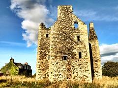 Knockhall Castle est 1565 - Aberdeen Scotland - 12/9/18 (DanoAberdeen) Tags: candid amateur aberdeen aberdeenscotland abdn abz scotland scottish scotch castleruins scottishcastle abandoned neglected weathered historicscotland historicenvironmentscotland nationaltrustforscotland danoaberdeen towerhouse 15thcentury knockhallcastle ruins foveran gunloops lintel heraldic udny lairdofudny jamiefleeman aberdeenshire geotagged 2018 countryside scenery landscape museum farmland medieval clanudny building architecture bonnyscotland bonnie newburgh riverythan jacobites oldtimer ancient history hiddenscotland walks walking blue sky highlands covenanters newburghcastle visitscotland lplan century 15th 16th jamesvi listedbuilding lordsinclair earlmarischal scottishhistory autumn summer winter spring