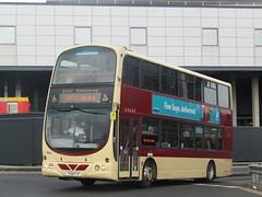 East Yorkshire 744 YX08FXF Hull Interchange (1280x960) (dearingbuspix) Tags: eyms eastyorkshire 744 yx08fxf goahead