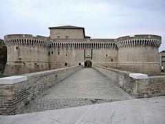 La rocca roveresca. (sangiopanza2000) Tags: senigallia emiliaromagna italia italy rocca castle ponte bridge