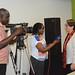 Media crew interview IITA DDG R4D, May-Guri Saethre