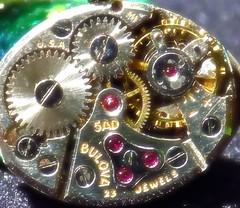 """Inside Time """"Cogwheel"""". (marieschubert1) Tags: watch bulova womens heirloom """"cogwheel"""" """"macro mondays"""""""
