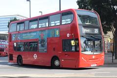 TT DN33648 @ Stratford bus station (ianjpoole) Tags: tower transit alexander dennis enviro 400 sn11bsu dn33648 working route 25 holles street oxford circus hainault ilford