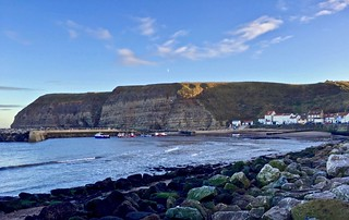 Staithes. North York Moors National Park. Yorkshire.