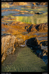 Rock pools (Falcdragon) Tags: sonyfe1885mm sonya7riialpha ilce7rm2 beach westcoast newzealand seaside water sea tasmansea raglan