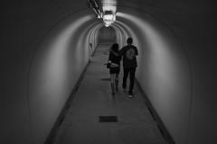 (Claudio Blanc) Tags: street streetphotography fotografiacallejera buenosaires bw bn blackandwhite blancoynegro tunel argentina night noche nocturna