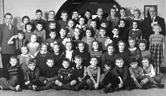 Class photo (theirhistory) Tags: boy children kid girl school class form pupils trousers jumper shoes wellies boots teacher