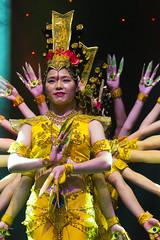 DAG_8677r (crobart) Tags: thousand hand bodhisattva eyes yate dance acrobatic team chinese china canadian national exhibition cne 2018 toronto