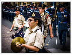 Percussion (Photography And All That) Tags: military parade percussion cymbals drums drum sword uniform uniforms procession march marching newark notts nottinghamshire sony sonyalpha7mark3 sonyalpha sonyilce7m3 streetphotography street ilce7m3 raf mansfielddistrictcorpsofdrums medal medals solemn smart battleofbritain commemoration 2018