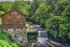 Lanterman's Mill (Phyllis74) Tags: millcreek lantermansmill waterfall water creek bridge mill youngstown ohio