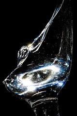 Broken (CarnivoreDaddy) Tags: glass beautiful broken sharp dangerous light lowkey highcontrast macro abstract sparkly refraction nikon d7000 tamron60mmf2 tamron macrolens manualfocus offcameralighting yongnuo yn568ex opportunistic offthecuff