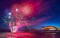 Vuurwerkfestival Scheveningen 2018 (Patrick Rasenberg) Tags: denhaag netherlands nl thehague vuurwerkfestival fireworks beach strand pier holland