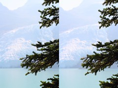 Glacier (ubernatural) Tags: mtrobson berglake camping backpacking hiking bc canada stphmkre stereophotomaker crossviewstereo 3d mountain