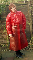 29125427268_908b376d21_b (shinymac2) Tags: pvc mac mackintosh rainwear raincoat hood transparent rainmac fetish mature