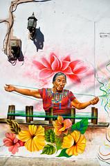 San Juan La Laguna (Valdy71) Tags: guatemala graffiti murales art street streetart travel nikon valdy color