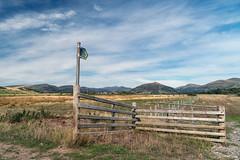 Outback (Howie Mudge LRPS BPE1*) Tags: sky bluesky landscape nature ngc greatoutdoors tywyn gwynedd wales cymru uk travel sony sonya6300 sonyilce6300 sonyalpha sonyalphagang sonylove fence post hills e18135mmf3556oss