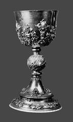 Golden chalice set with precious stones (martim33) Tags: golden chalice precious stones krakow wawel cathedral sigismund vasa lost world war