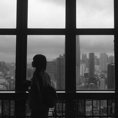 City, Tokyo tower (Assy2015) Tags: city street tokyo tower blackwhite monochrome leica summar50mm finduself