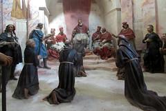 Orta San Giulio (NO) (risotto al caviale) Tags: ortasangiulio sacromonte statues saintfrancis franciscan diorama chapels