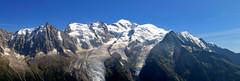 Panorama sur le Mont-Blanc (Frantce) Tags: montblanc alpes chamonix brévent 2018 canon glacier