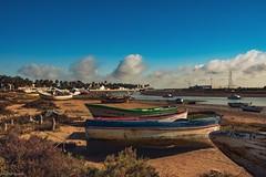 Boats... (hobbit68) Tags: boats boote barcos sky himmel clouds wolken strand beach playa hafen port puerto old wracks spanien spain espanol espagne espana sonne sommer sun sunset sunshine holiday urlaub fujifilm xt2 wasser water
