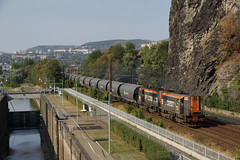 741.518 Usti Nad Labem,Strekov (Gridboy56) Tags: bflogistics locomotive locomotives diesel railways railroad railfreight trains train wagons class66 freight strekov czech czechrepublic europe 741517 741518 ustinadlabem