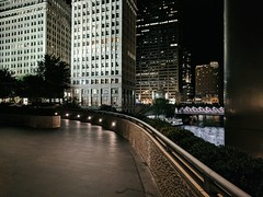 Evening (ancientlives) Tags: chicago illinois il usa downtown loop trumptower chicagoriver michiganavenue towers architecture buildings skyline skyscrapers city cityscape lights night evening walking streetphotography september wednesday summer 2018