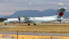 De Havilland Canada DHC-8-402Q C-FSRZ Air Canada Express (William Musculus) Tags: vancouver international airport yvr cyvr spotting richmond britishcolumbia canada ca cfsrz air express de havilland dhc8402q dash 8 bombardier dash8q400 q400 dhc8400 qk jza jazz ac aca william musculus