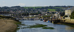 Axmouth Harbour (JamieHaugh) Tags: axmouth seaton england uk gb britain outdoors sony alpha zeiss ilce7rm2 a7rii boats sailing water sky harbour harbor port dock river estuary buildings landscape beach coast seaside devon green hill town birds people
