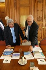 Abdulrahman Al Hamidy, Director General and Chairman of the Board, Arab Monetary Fund at the OECD (Organisation for Economic Co-operation and Develop) Tags: gurria oecd ocde al hamidy arabmonetaryfund