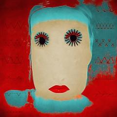 I'll be needing stitches (lorenka campos) Tags: fineartamerica color portrait modernart artdigital popart art