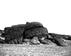 Sleeping beast (Rosenthal Photography) Tags: dänemark washis50 20180706 schwarzweiss mamiya7 asa50 6x7 epsonv800 mittelformat urlaub bunker nordsee dünen ff120 strand houvig analog rodinal12520°c11min landscape mood blackanwhite washi filmwashi washis rodinal 125 epson v800 northsea sea beach sleepingbeast denmark danmark