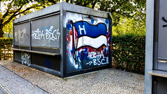 Kiosk Graffiti at the Olympiastadion (nick.upton19@btinternet.com) Tags: