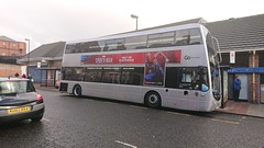 YJ65 EPU@North Shields (zipdiskdude) Tags: yj65epu optare metrodecker demonstrator 9083 northshields 310 bus nebuses