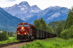 CP 8947 ~ Cokato (Chris City) Tags: train railway railroad mainline coal freight mountain cpr ge es44ac cranbrook